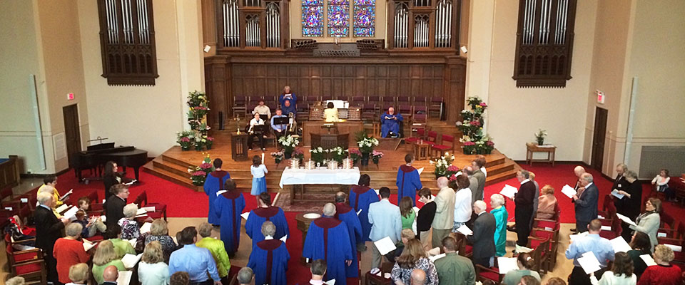 Service at First Presbyterian Church of Wausau